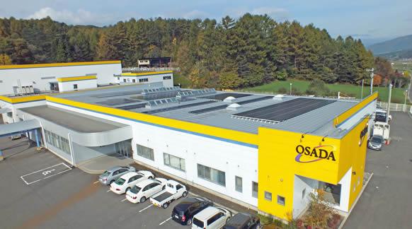 岩手事業所に設置したソーラーパネル